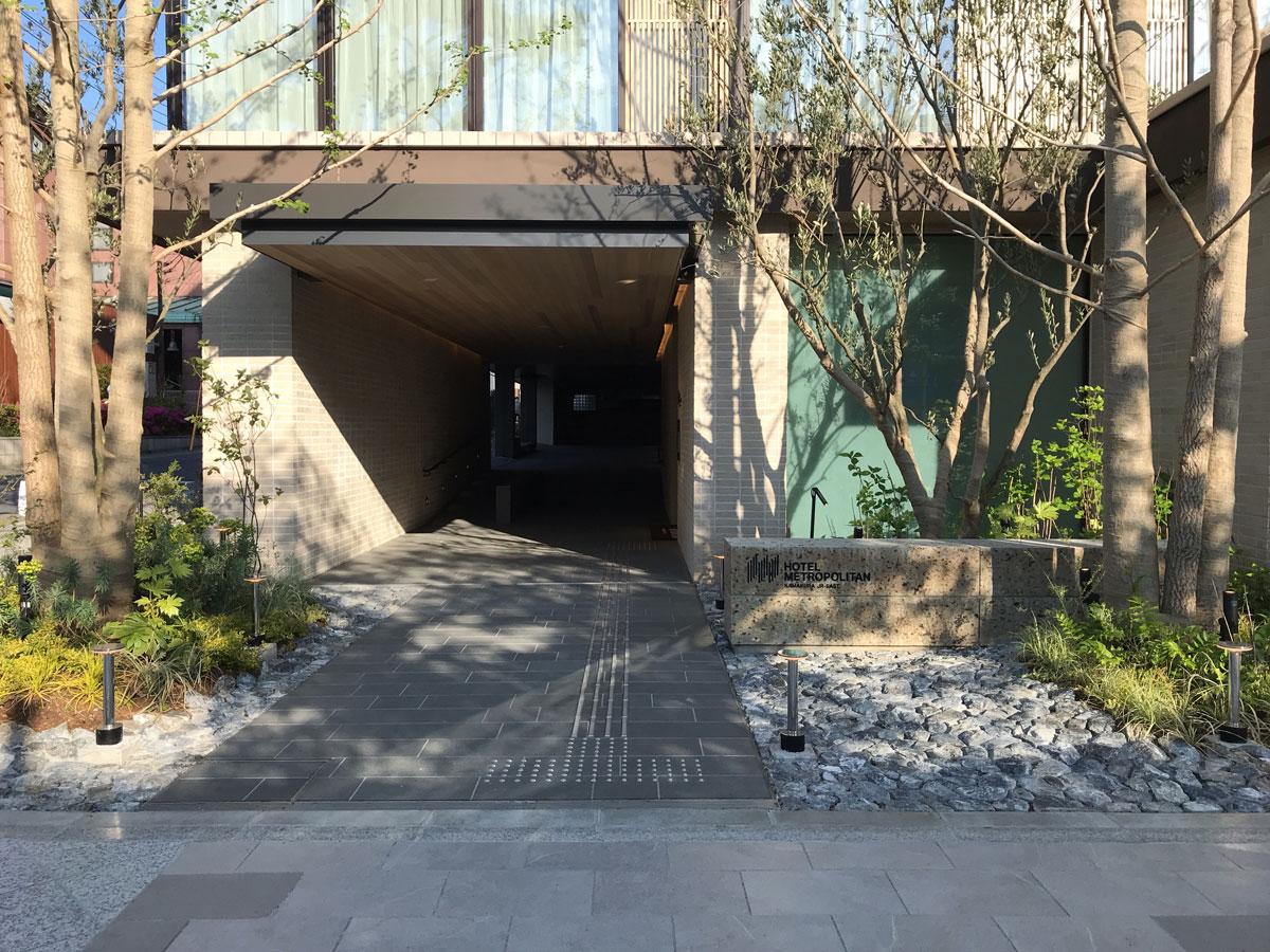 ホテルメトロポリタン鎌倉 入口